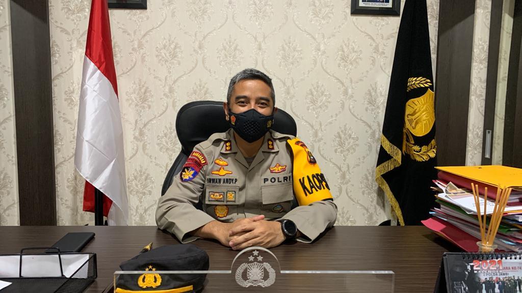 Kapolres Merangin AKBP Irwan Andy Purnamawan. (Dok. Istimewa)